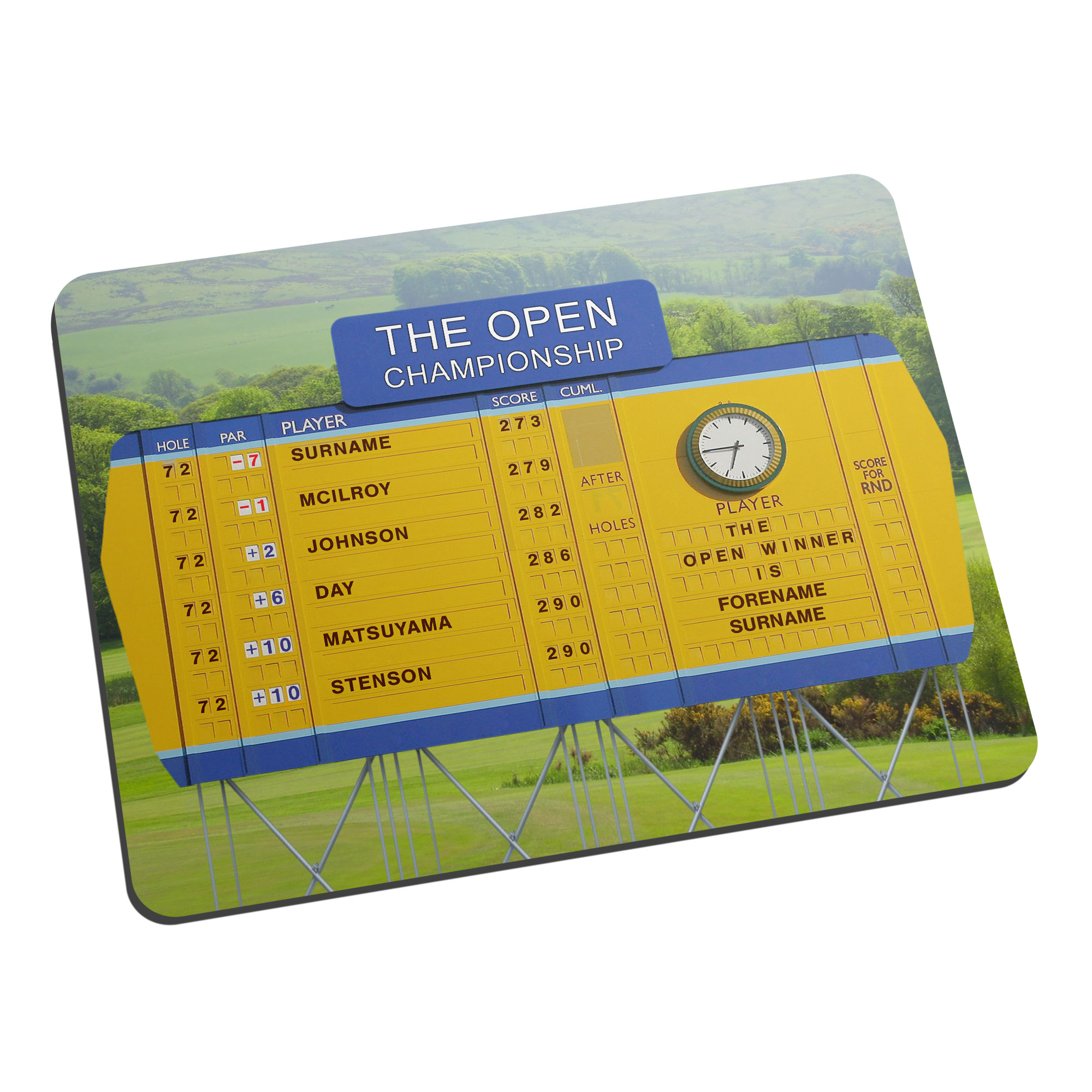 Personalised Open Championship Mouse Mat