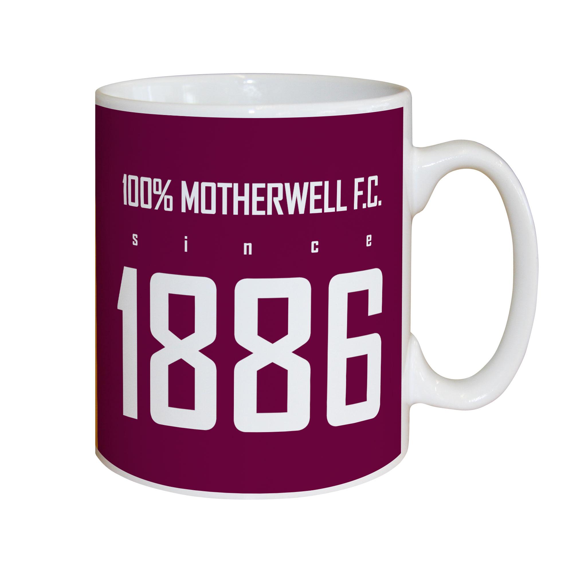 Motherwell FC 100 Percent Mug