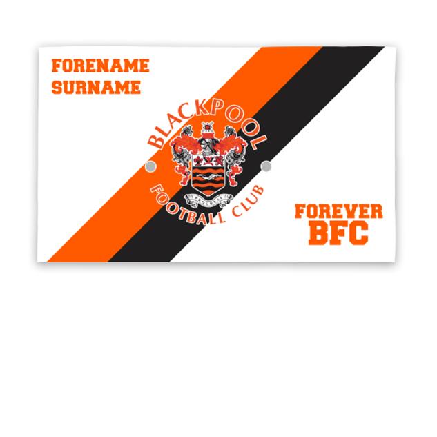 Blackpool Forever 5ft x 3ft Banner