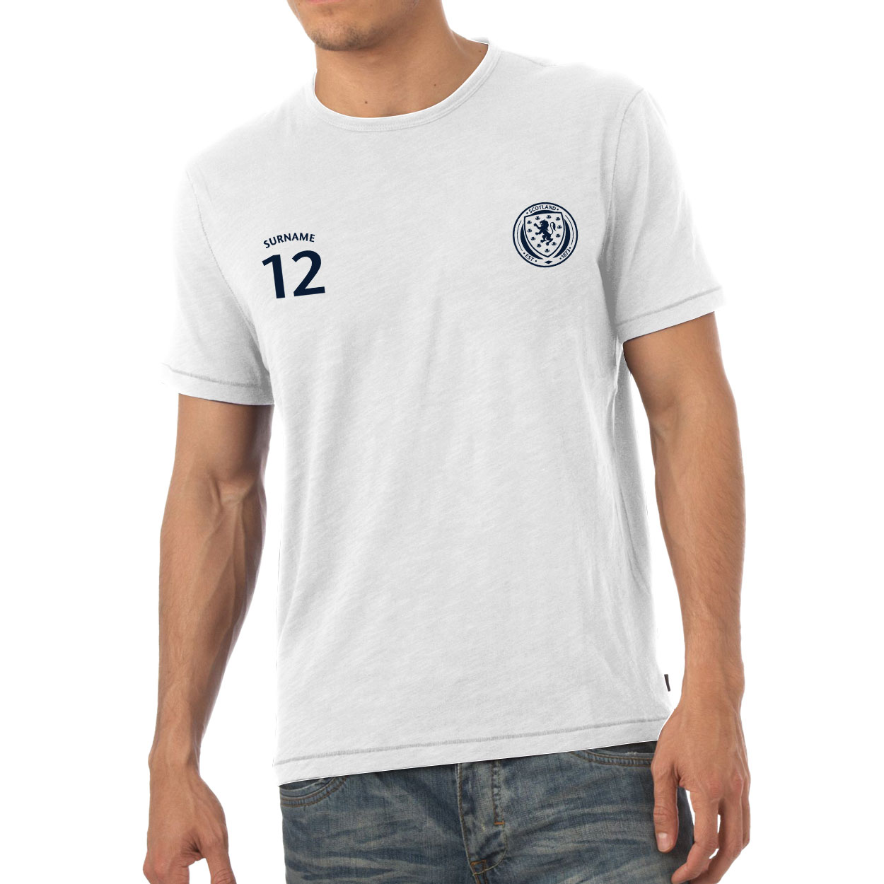 Scotland Mens Sports T-Shirt