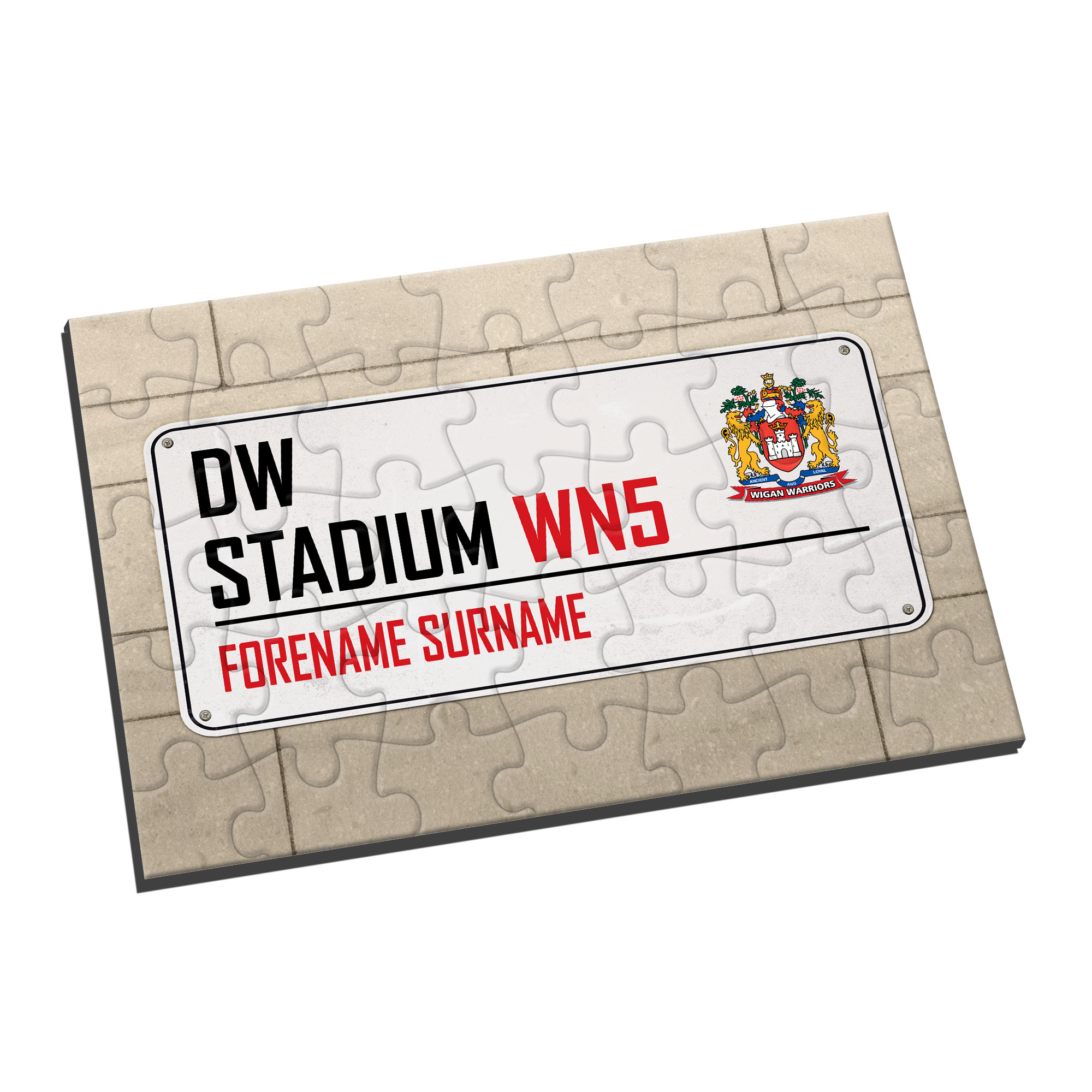 Wigan Warriors Street Sign Jigsaw