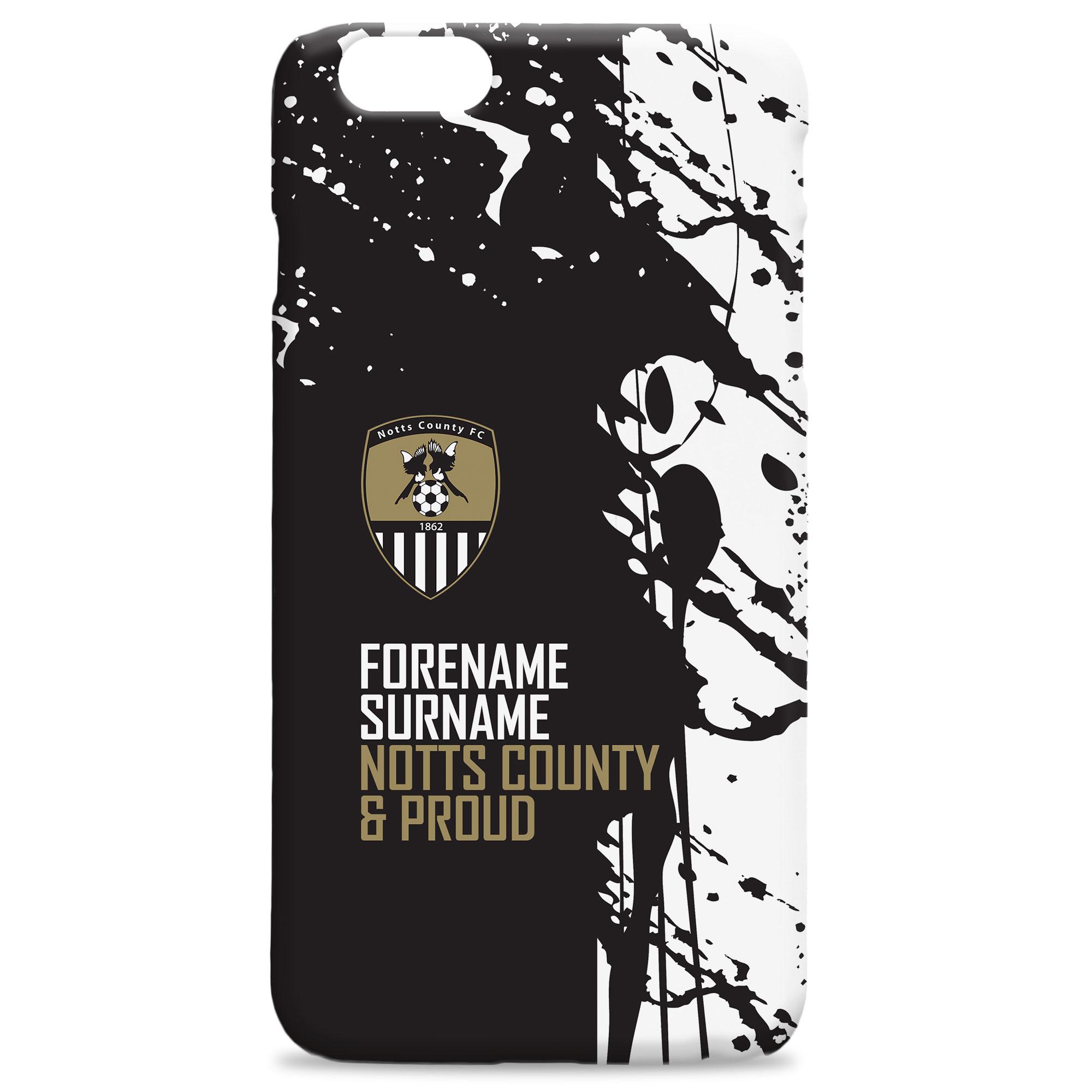 Notts County FC Proud Hard Back Phone Case