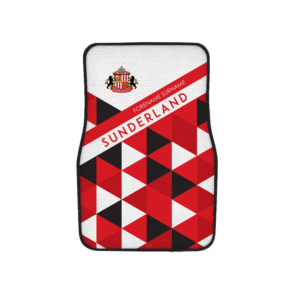 Sunderland AFC Patterned Front Car Mat