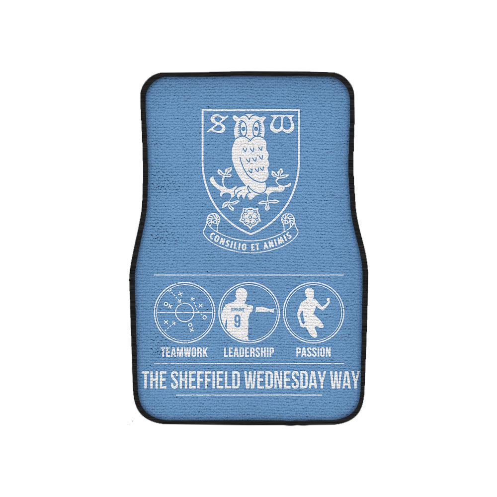 Sheffield Wednesday FC Way Front Car Mat