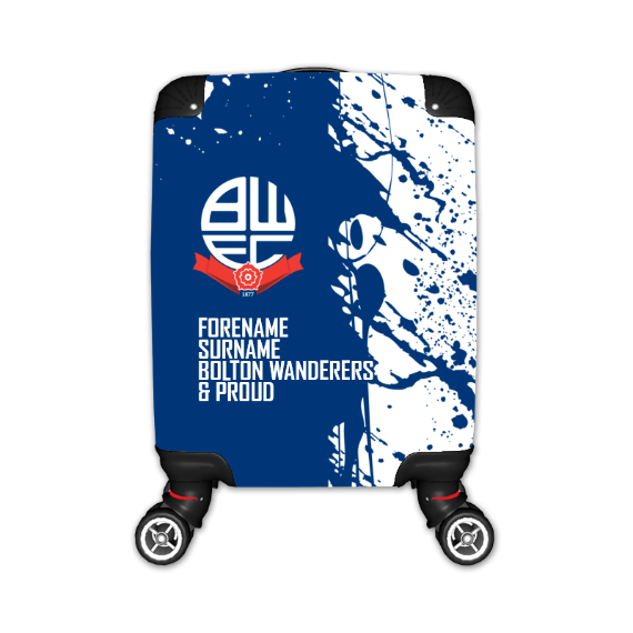 Bolton Wanderers FC Proud Kid's Suitcase