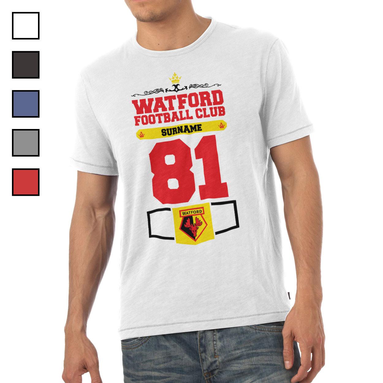 Watford FC Mens Club T-Shirt