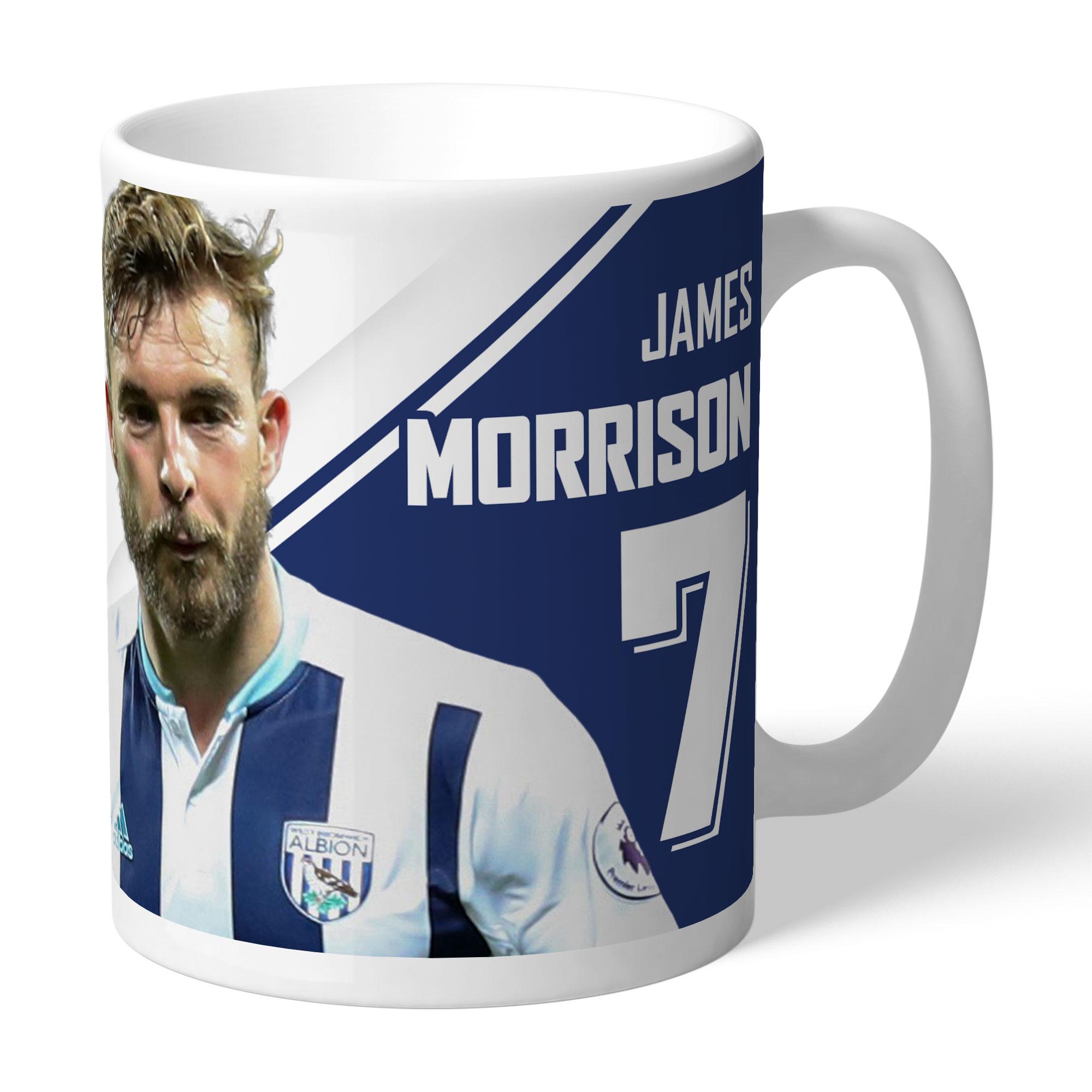 West Bromwich Albion FC Morrison Autograph Mug