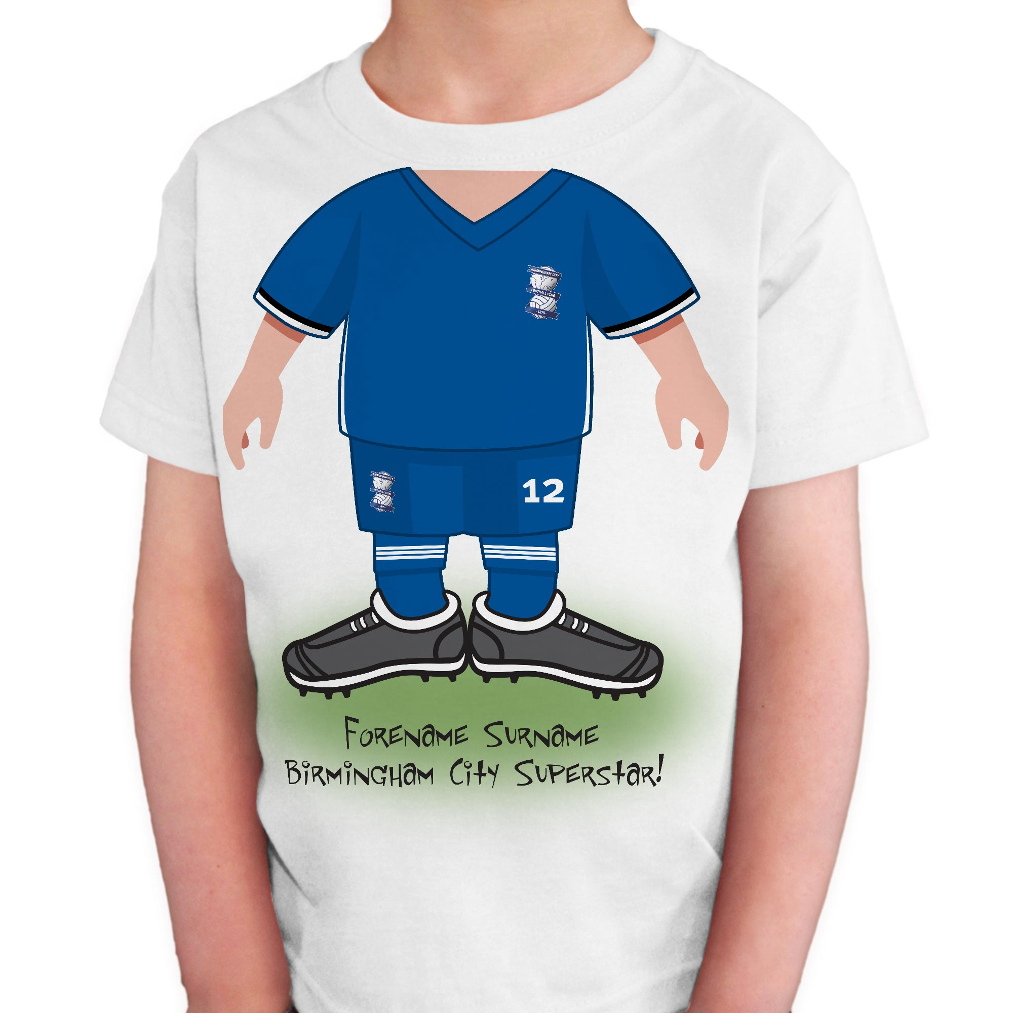 Birmingham City FC Kids Use Your Head T-Shirt