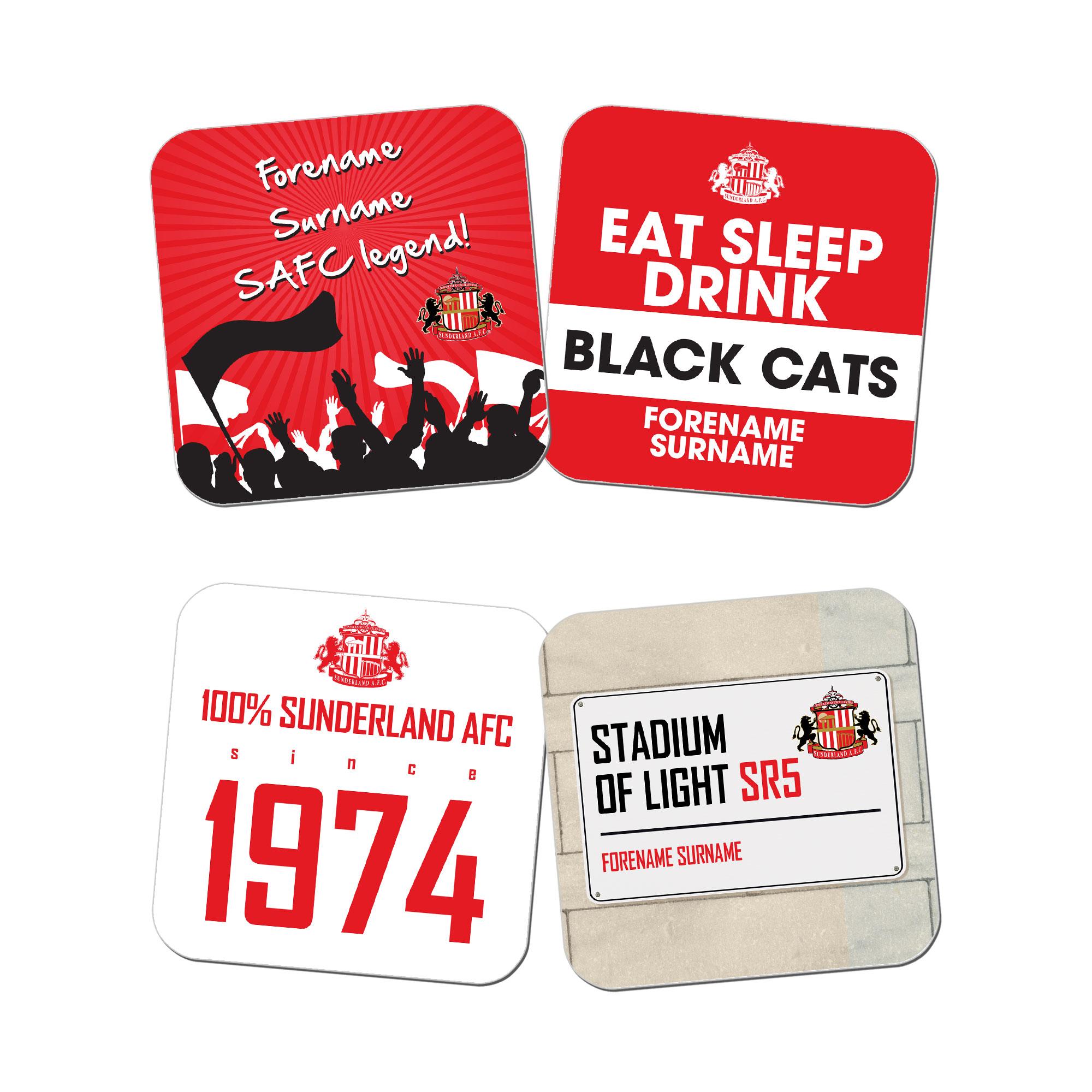 Sunderland AFC Coasters