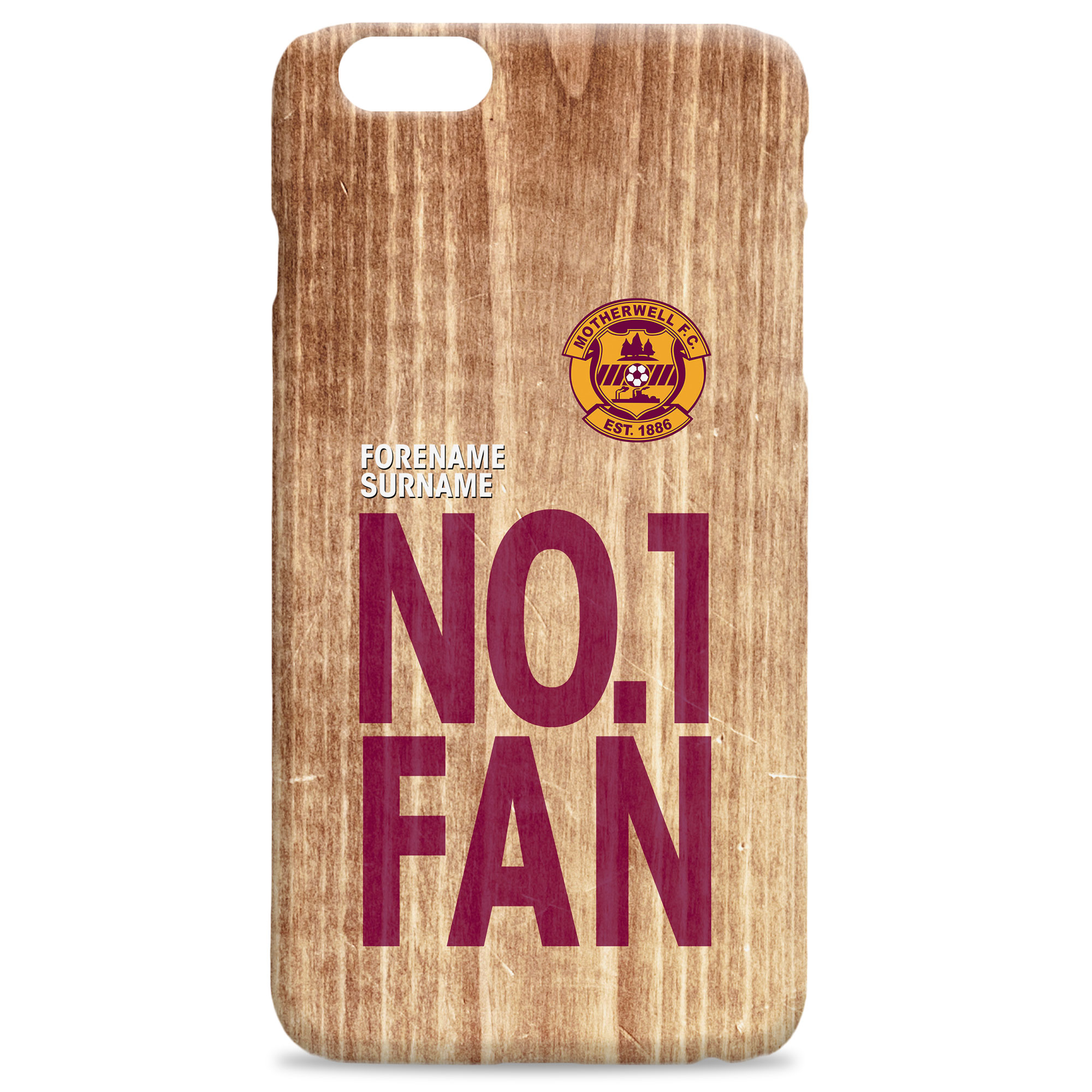 Motherwell FC No 1 Fan Hard Back Phone Case