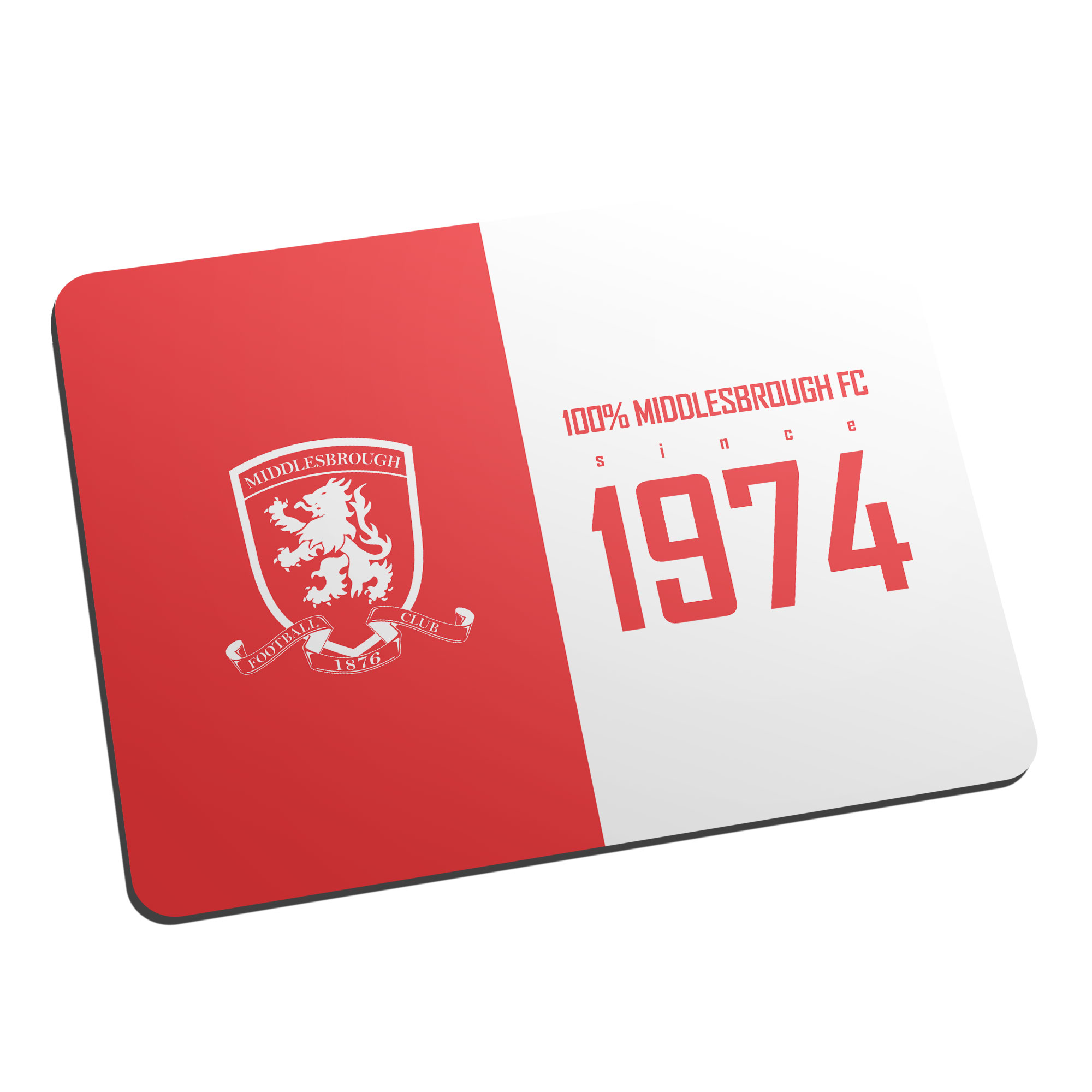 Middlesbrough FC 100 Percent Mouse Mat