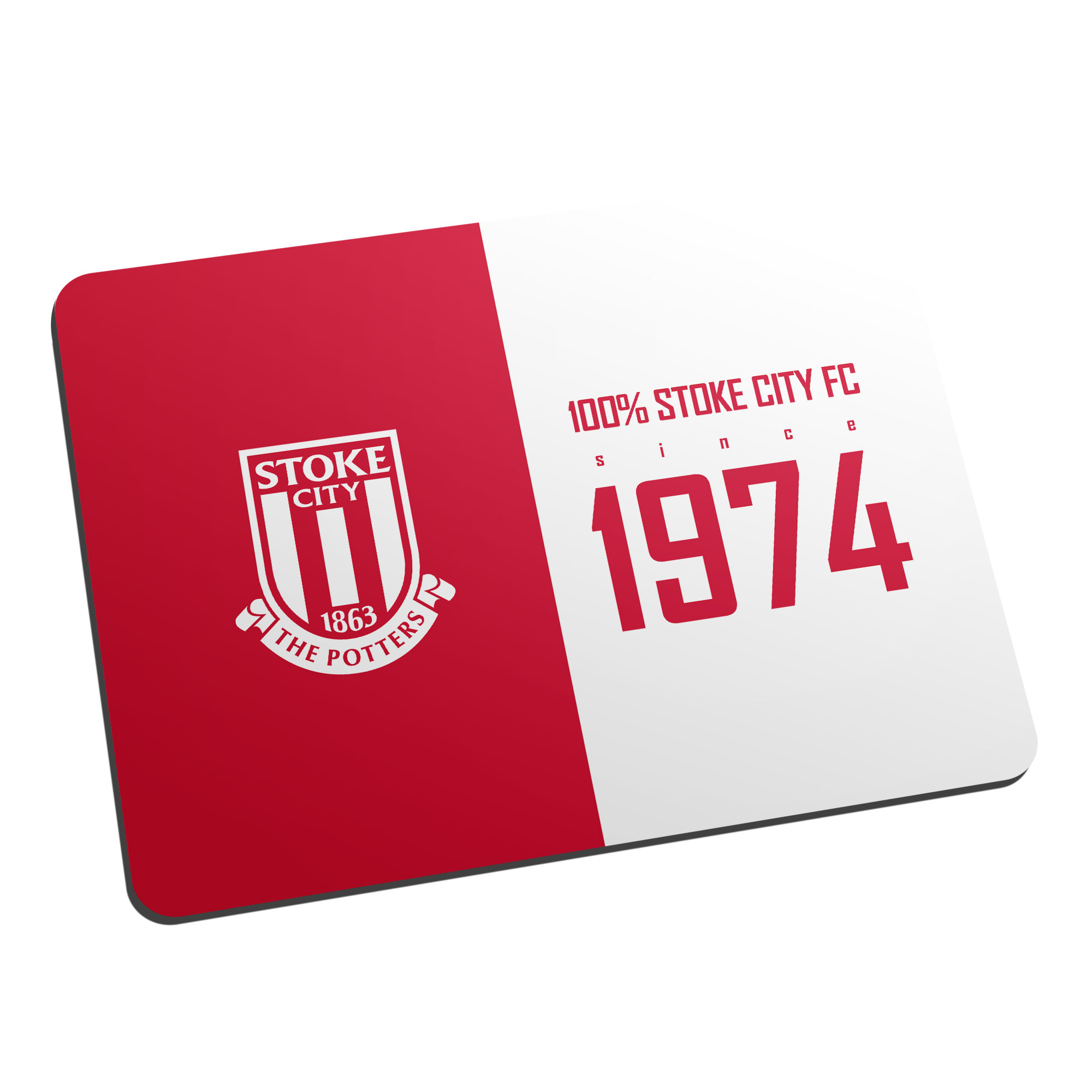 Stoke City FC 100 Percent Mouse Mat