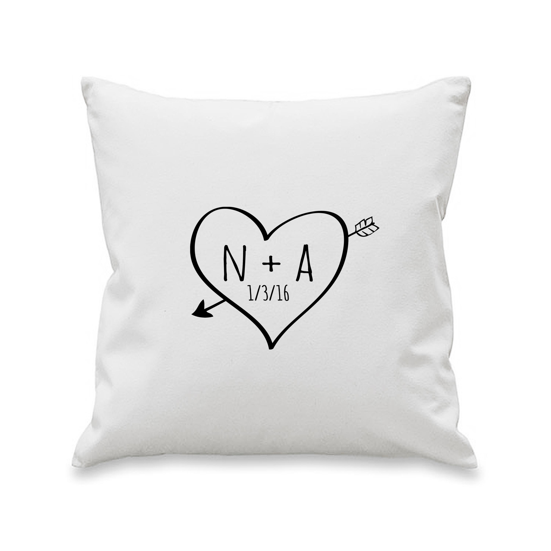 Sketch Heart Cushion