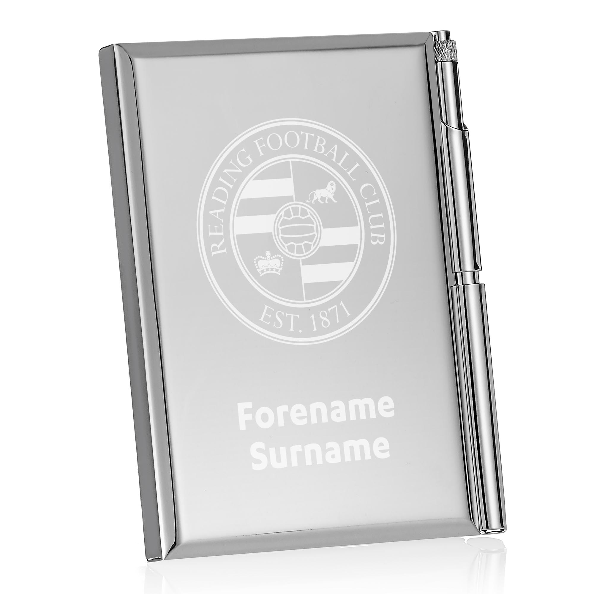 Reading FC Crest Address Book
