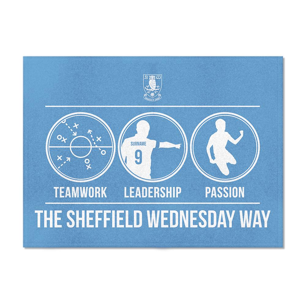 Sheffield Wednesday FC Way Blanket (100cm X 75cm)