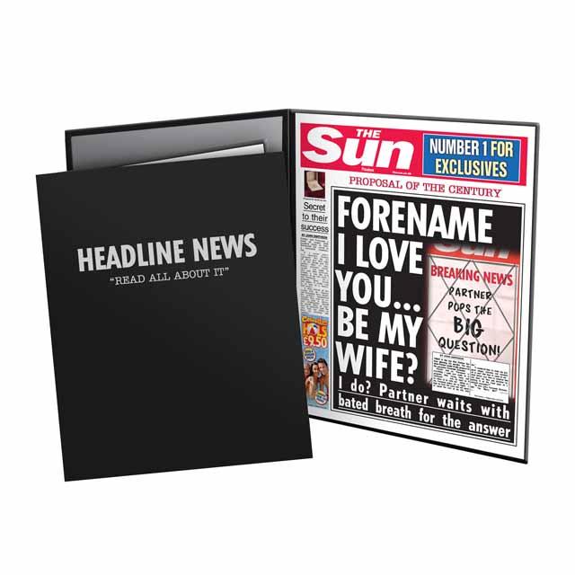 The Sun Proposal News Folder