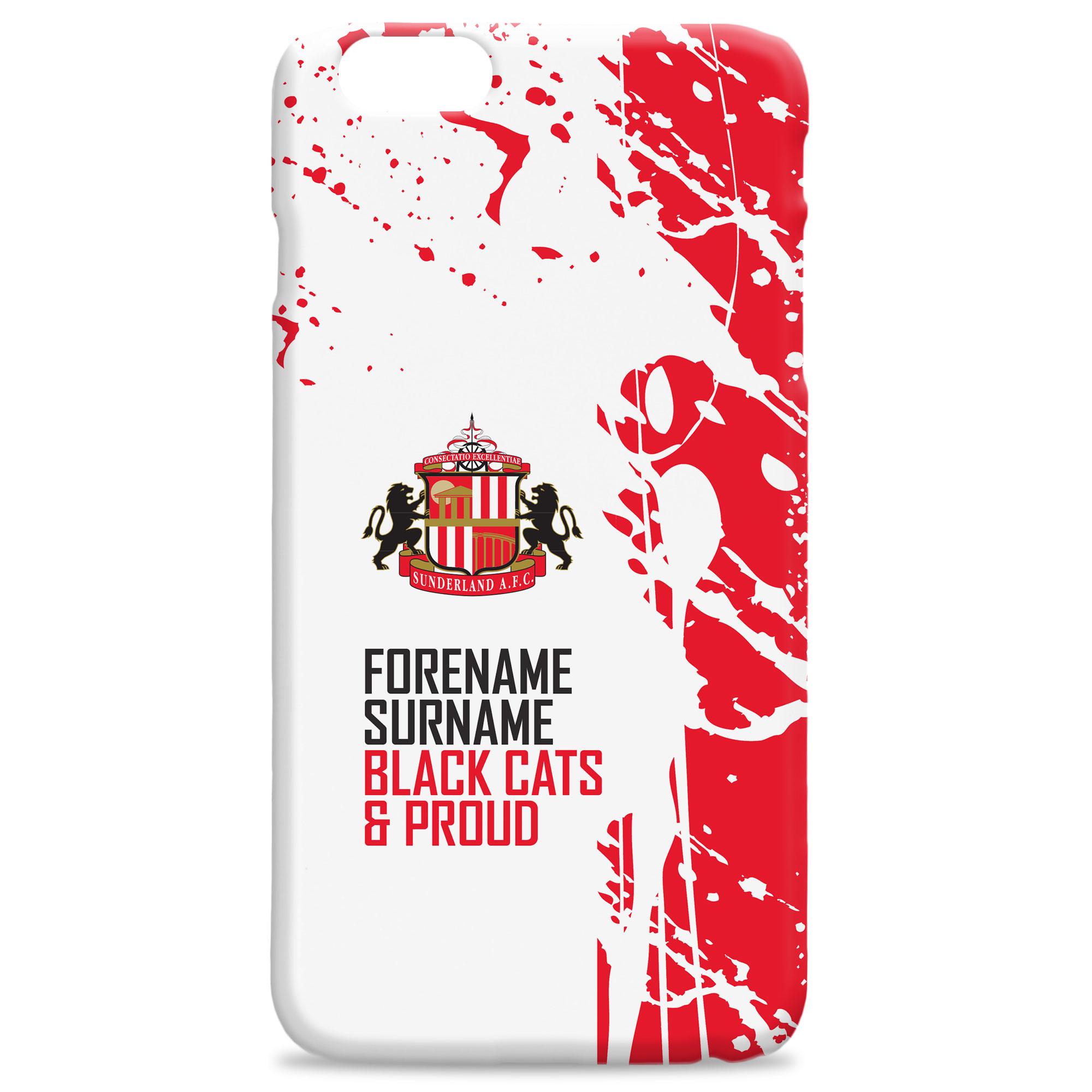 Sunderland Proud Hard Back Phone Case