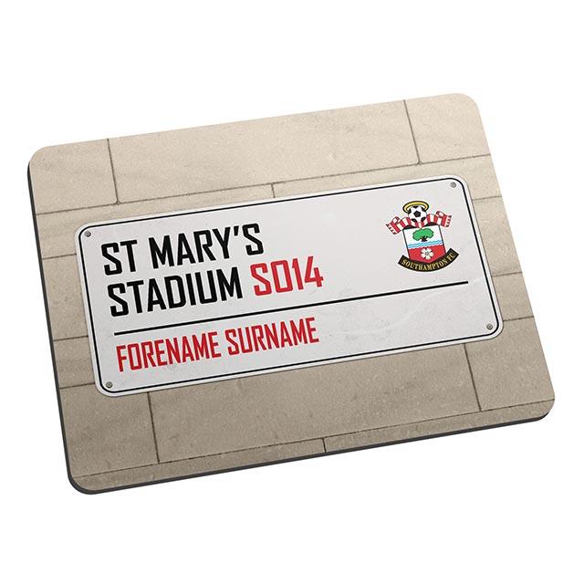 Southampton FC Street Sign Mouse Mat