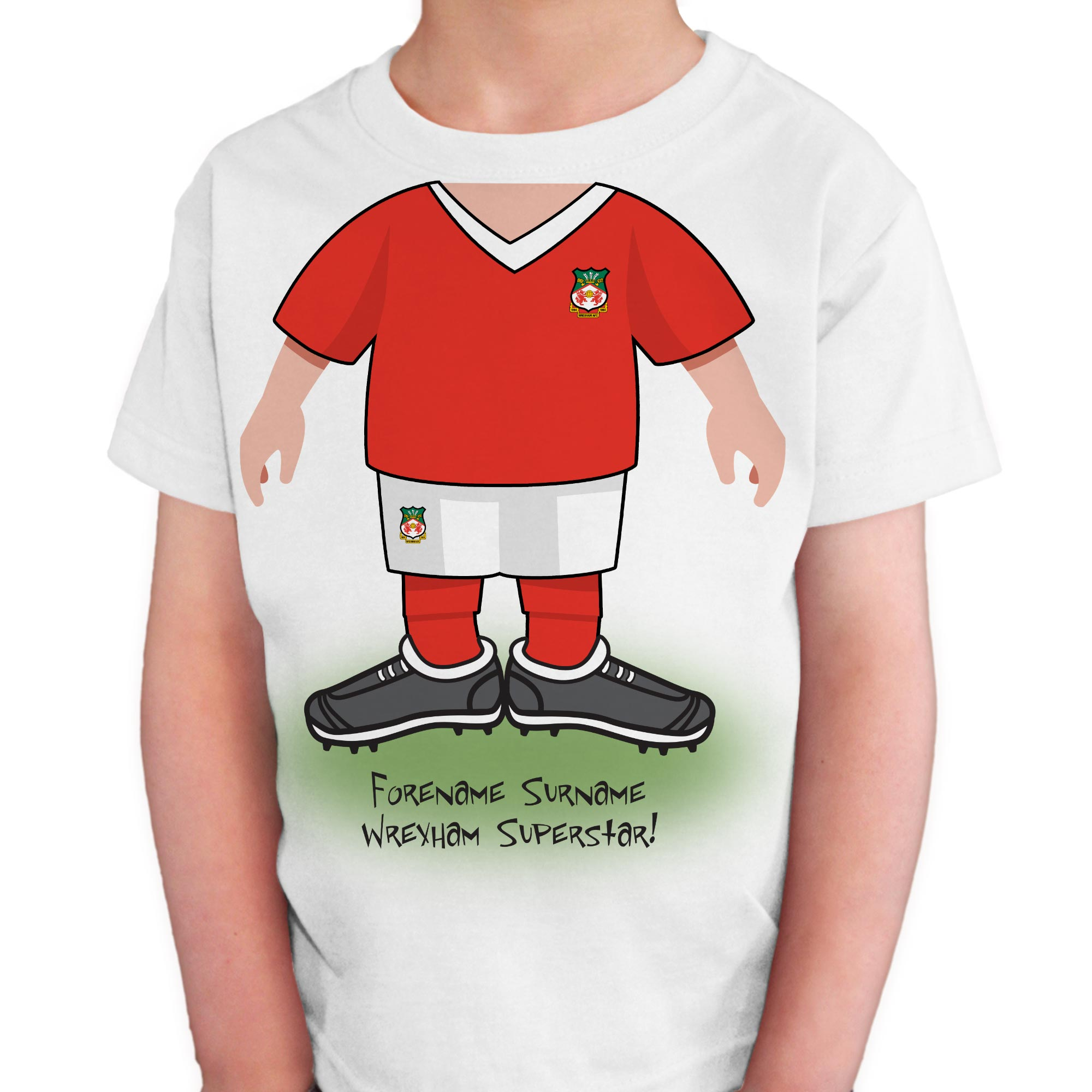 Wrexham AFC Kids Use Your Head T-Shirt