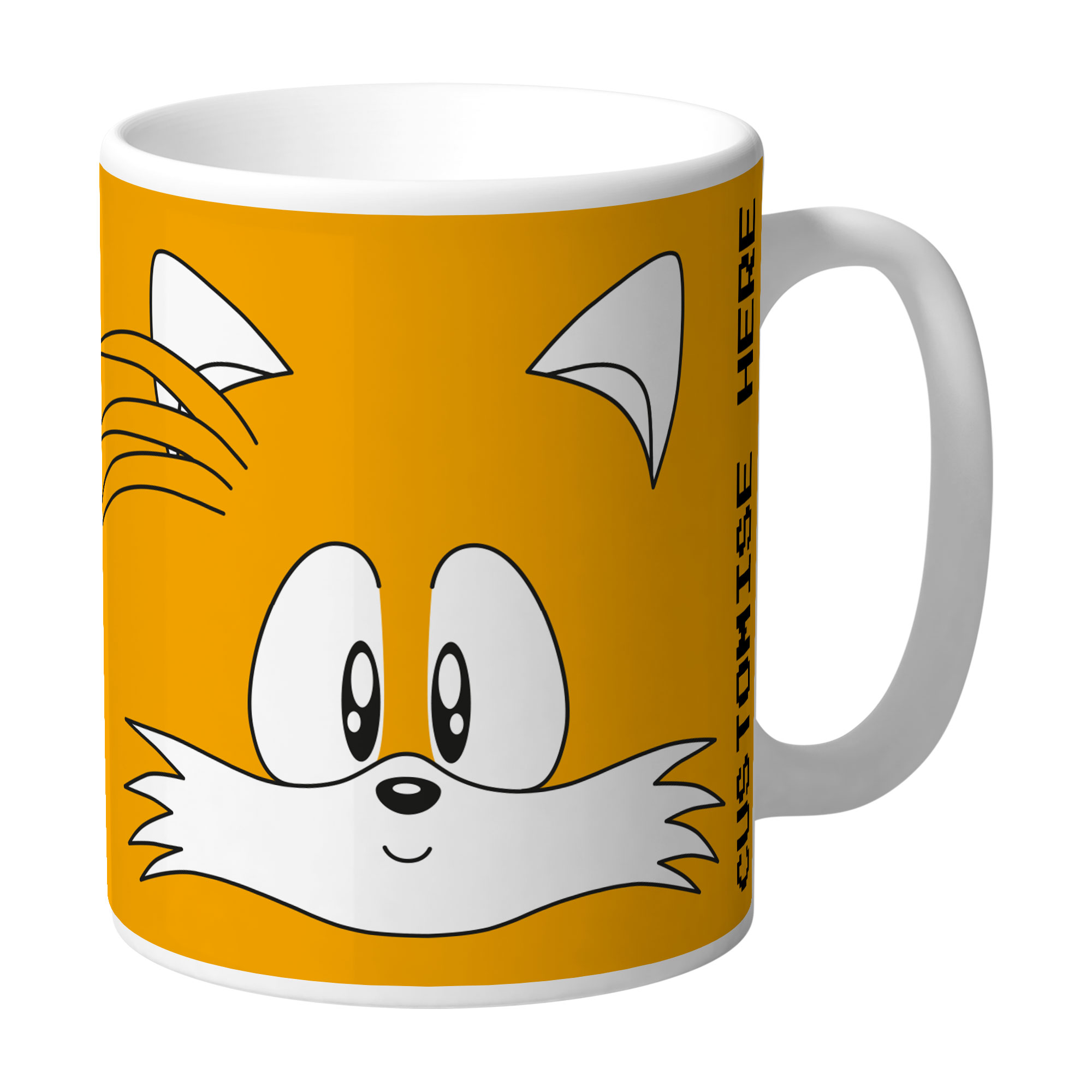 Mug - Tails Face - Classic Sonic