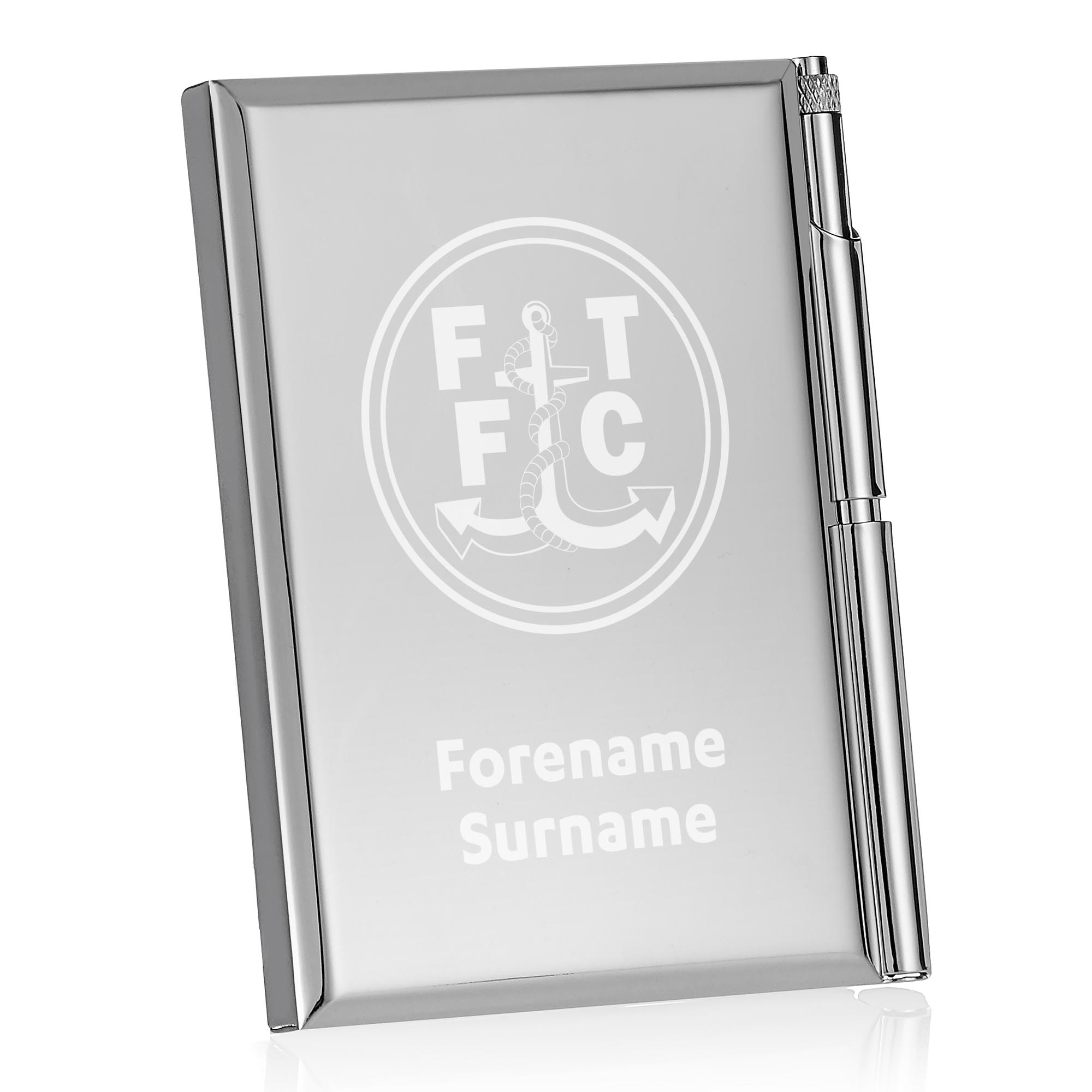 Fleetwood Town FC Crest Address Book