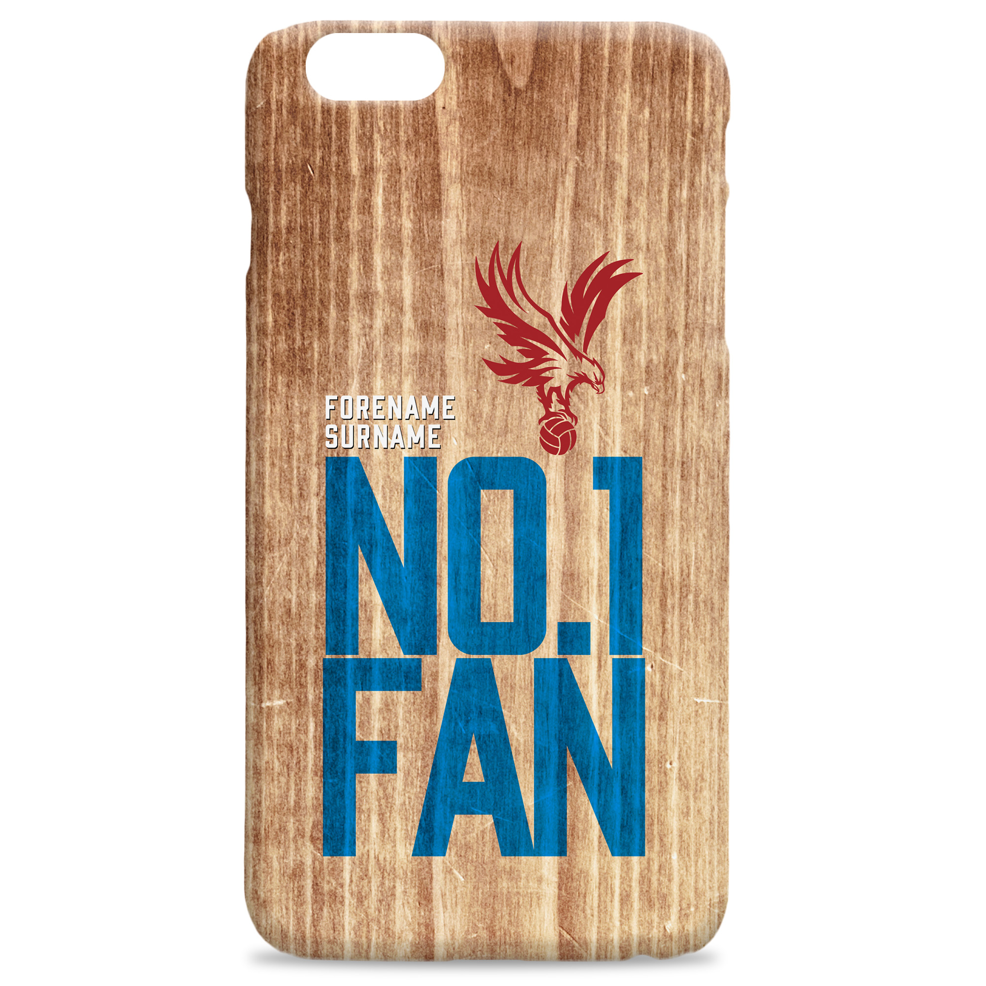 Crystal Palace FC No 1 Fan Hard Back Phone Case