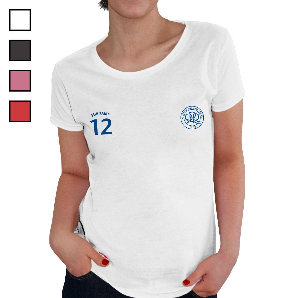 Queens Park Rangers FC Ladies Sports T-Shirt