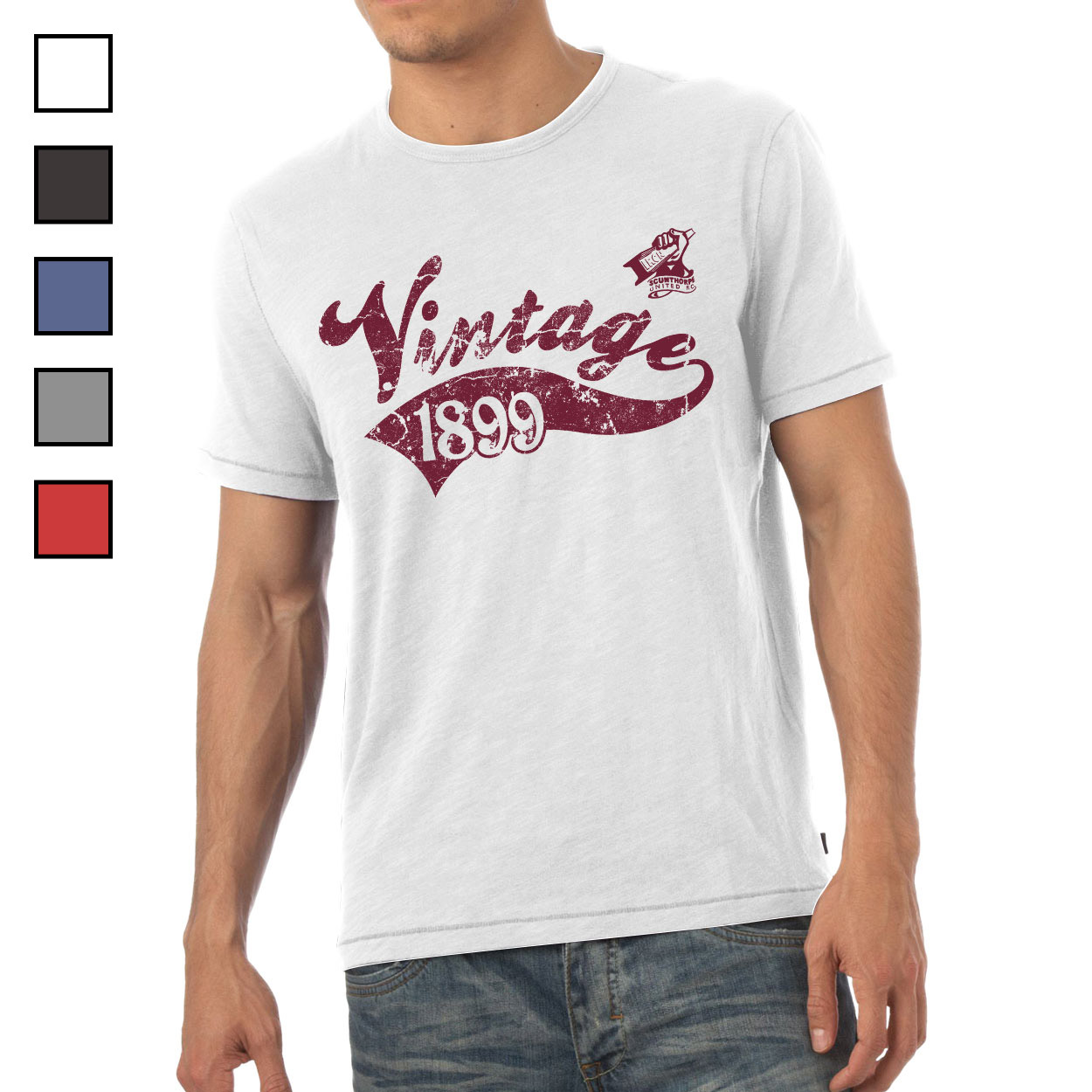 Scunthorpe United FC Mens Vintage T-Shirt