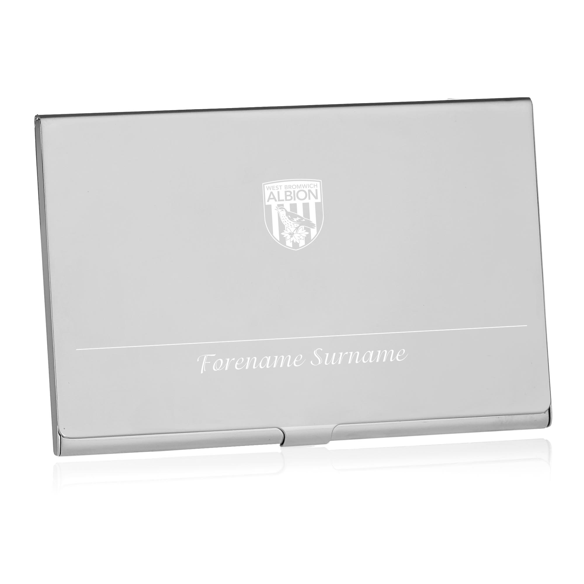 West Bromwich Albion FC Executive Business Card Holder