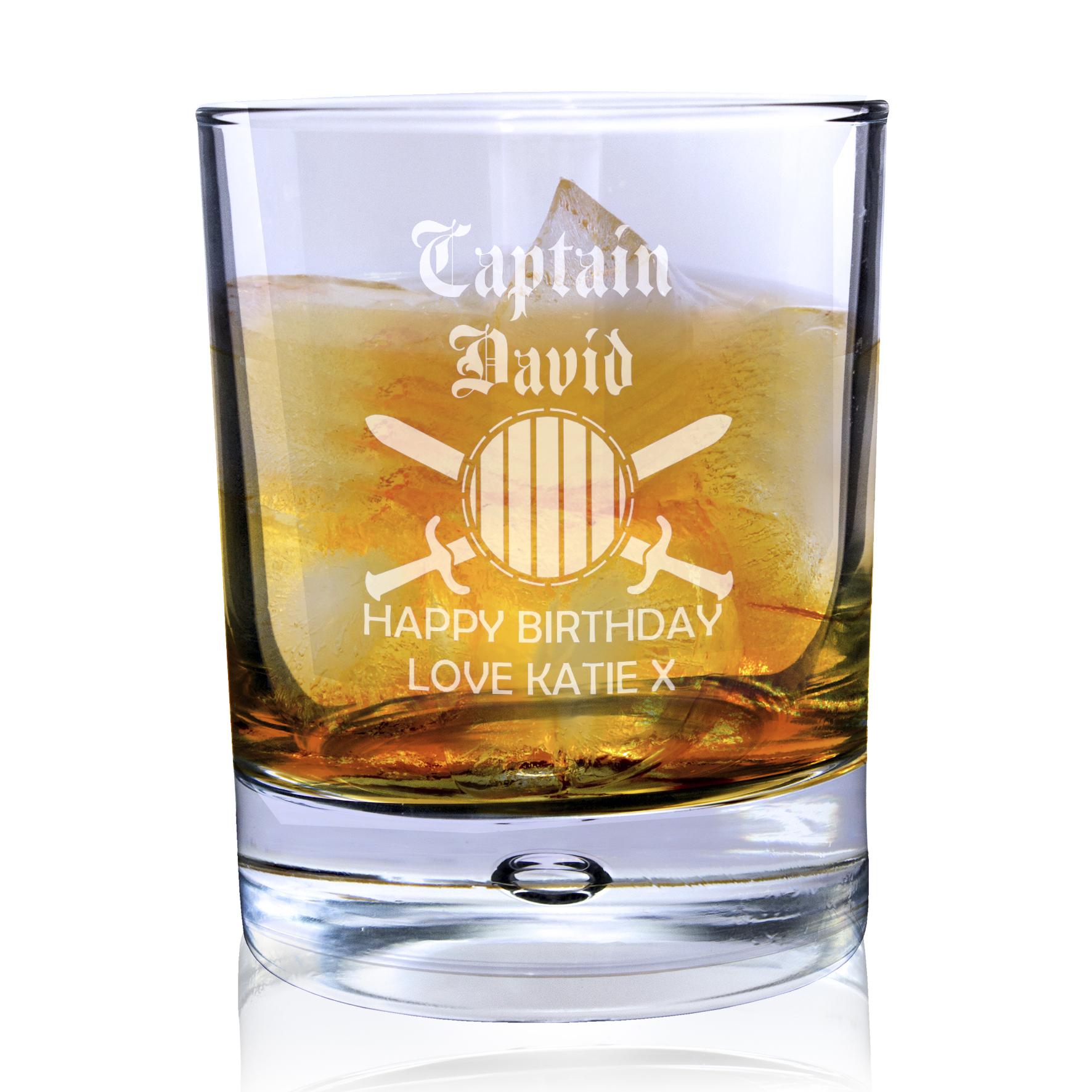 Engraved Bubble Tumbler - Captain Rum