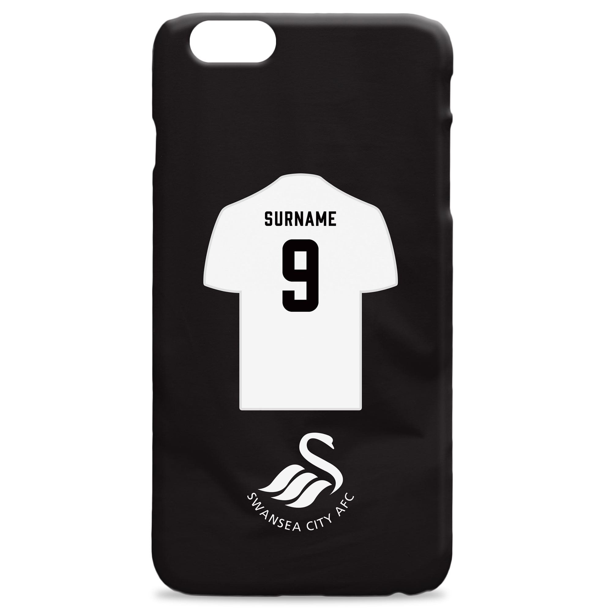 Swansea City AFC Shirt Hard Back Phone Case