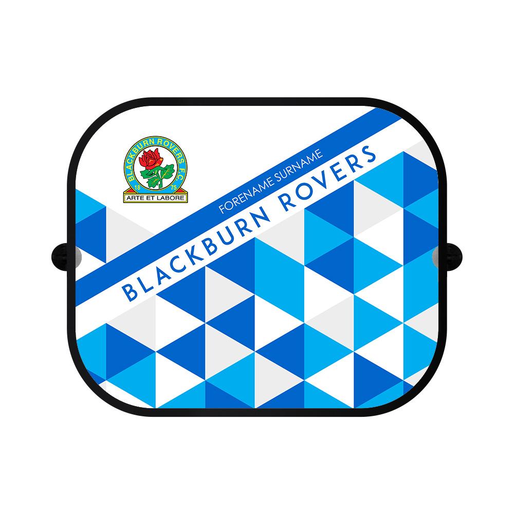 Blackburn Rovers FC Patterned Car Sunshade