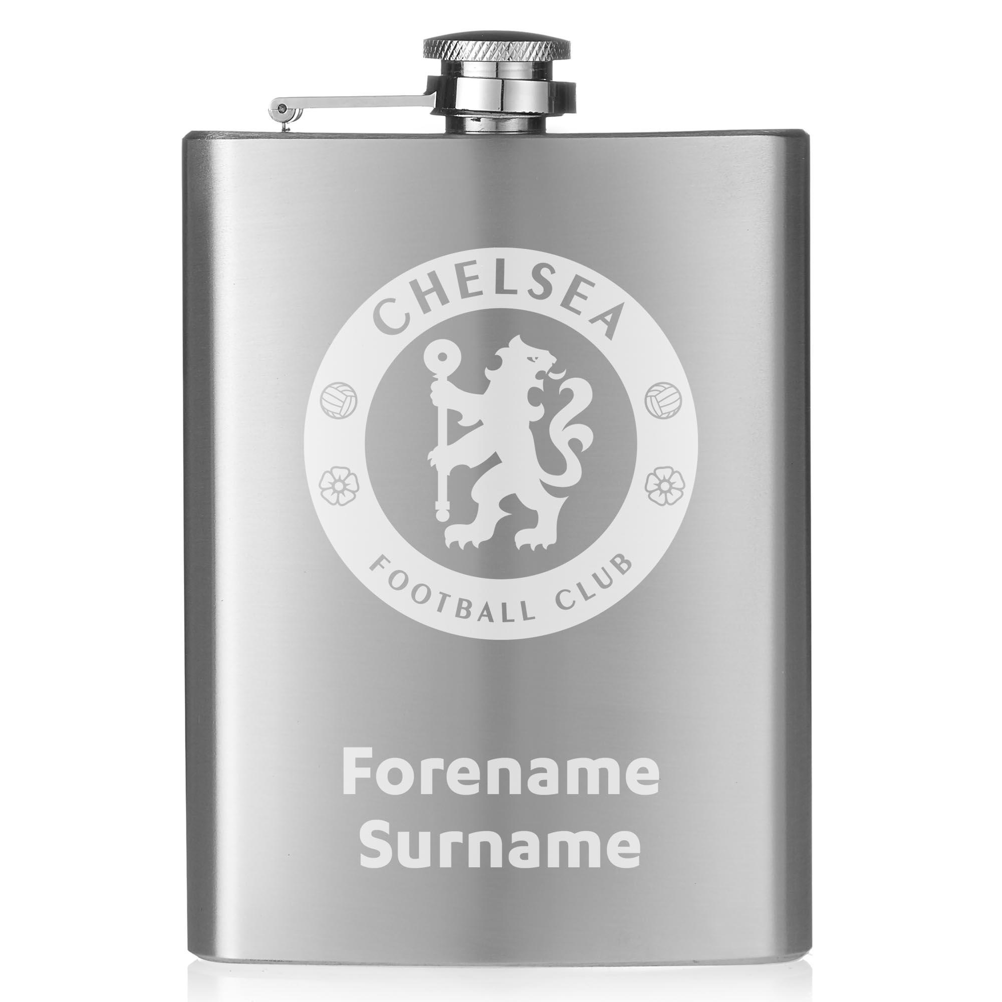 Chelsea FC Crest Hip Flask