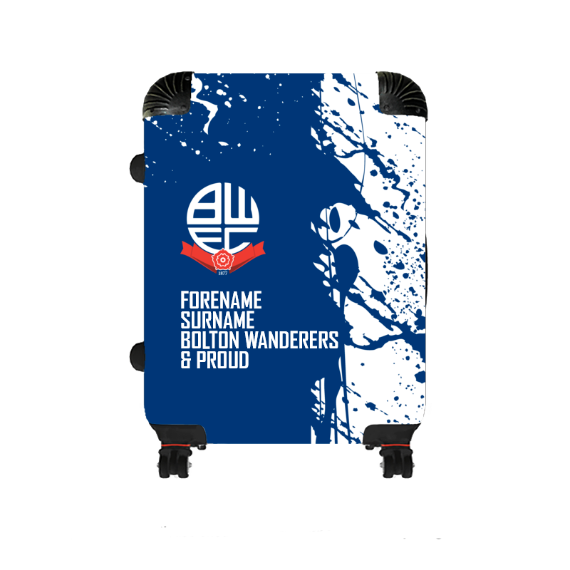 Bolton Wanderers FC Proud Medium Suitcase