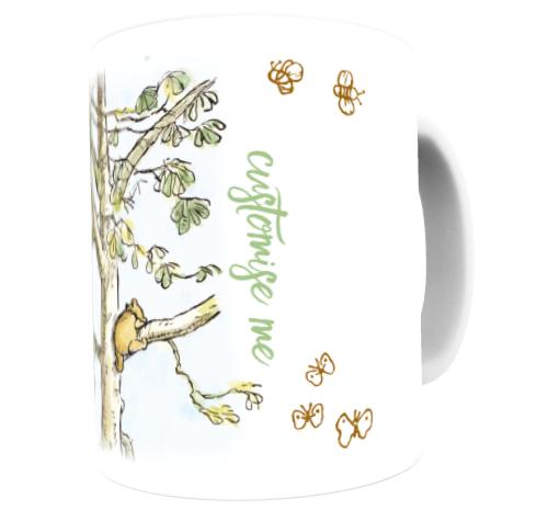 Disney Winnie The Pooh Tree Climb Scene Mug