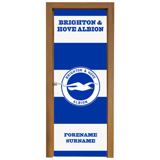 Brighton & Hove Albion FC Scarf Door Banner