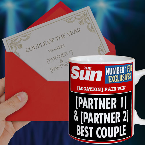 The Sun Anniversary Mug