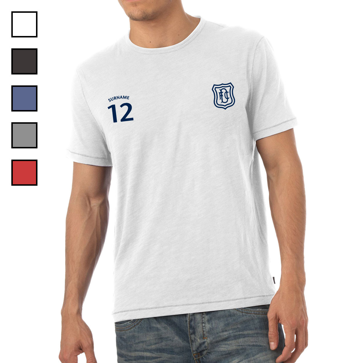 Dundee FC Mens Sports T-Shirt