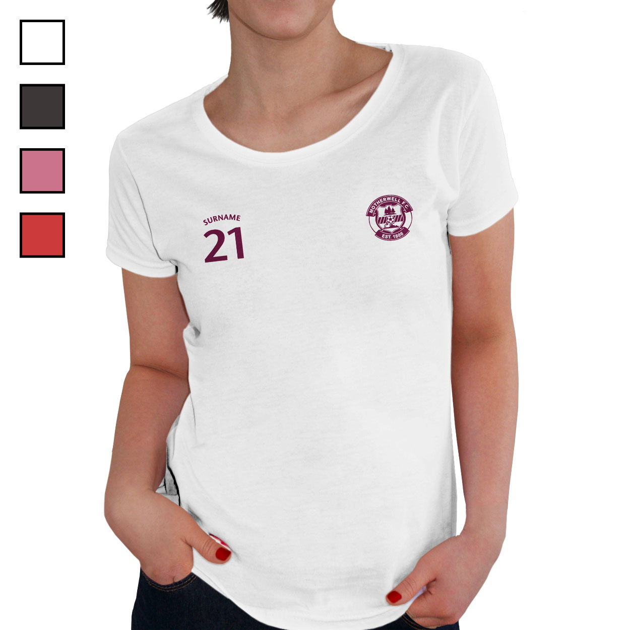 Motherwell FC Ladies Sports T-Shirt