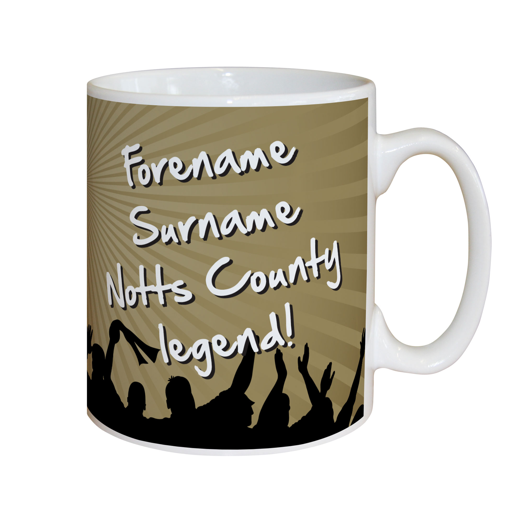 Notts County FC Legend Mug