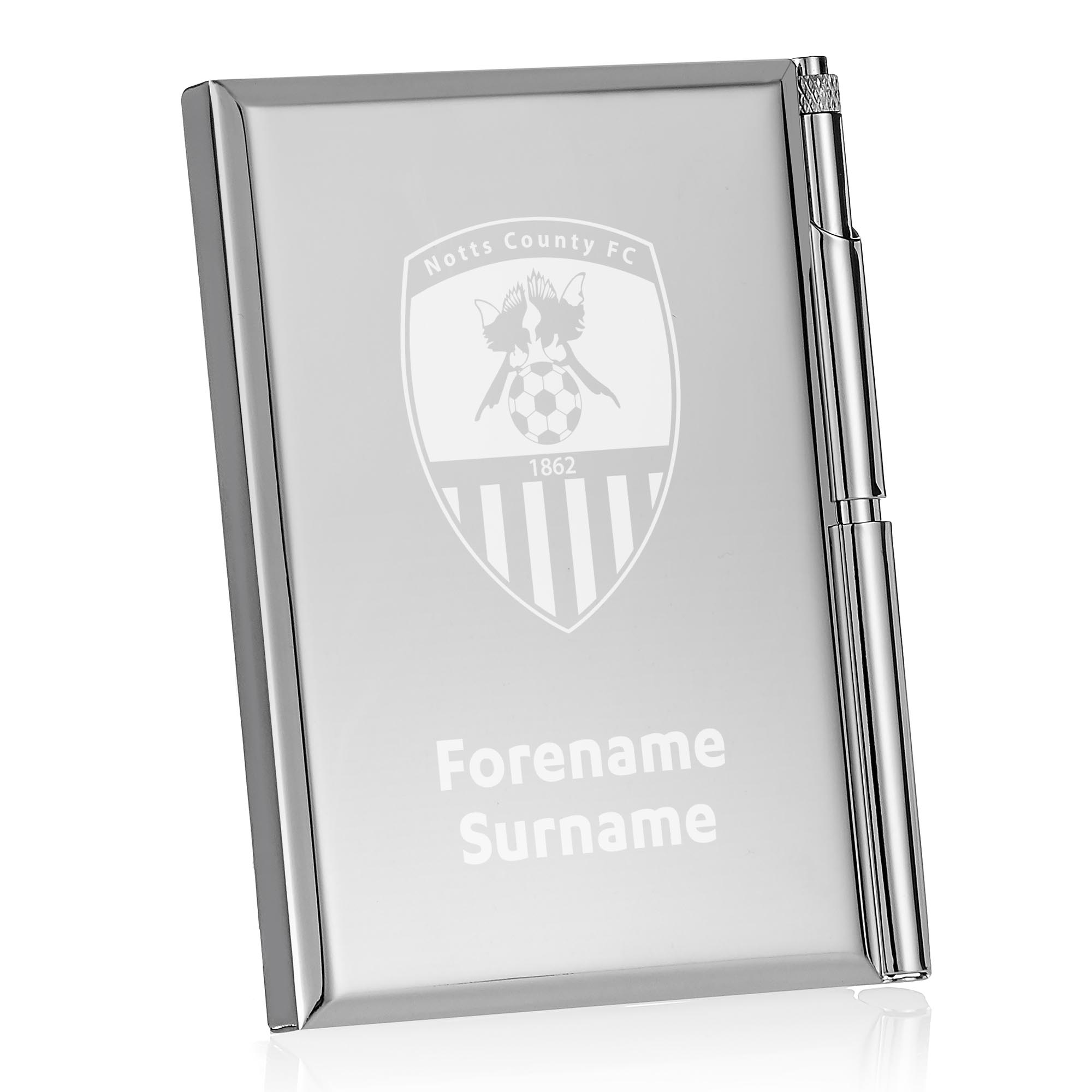 Notts County FC Crest Address Book