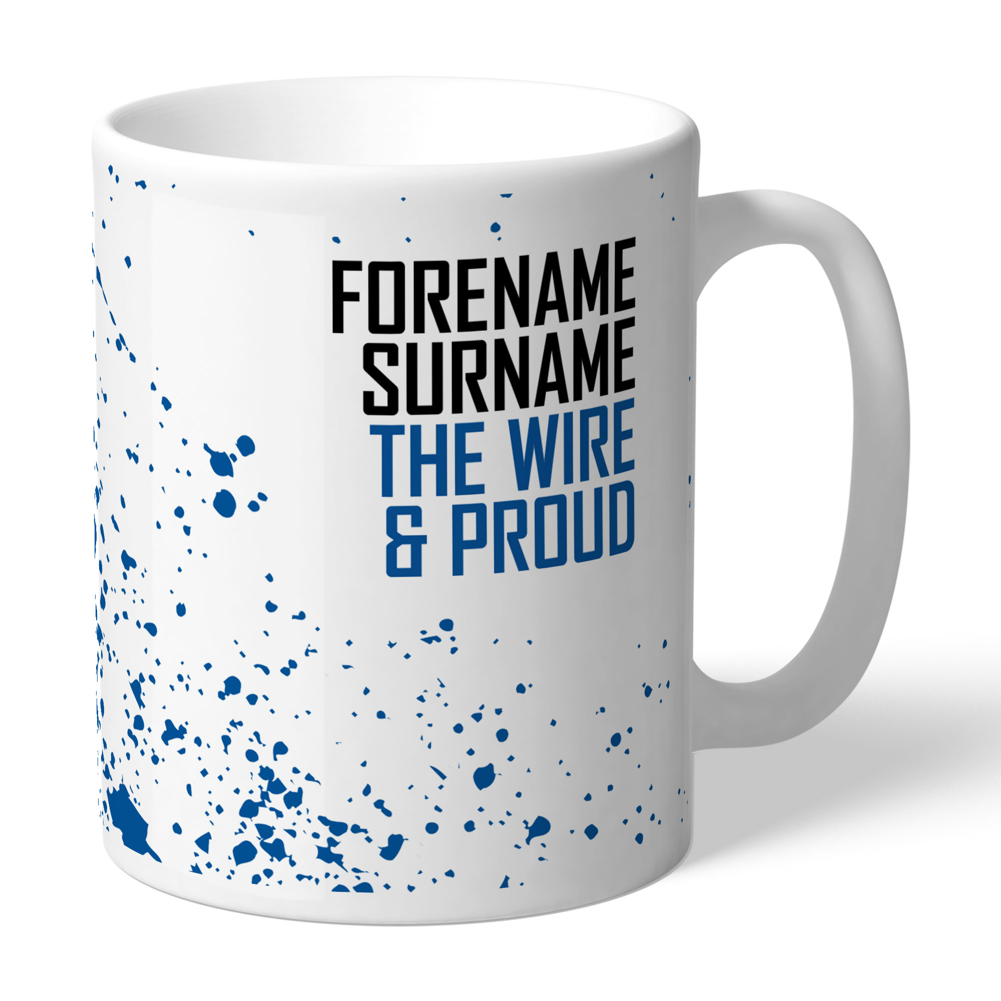 Warrington Wolves Proud Mug