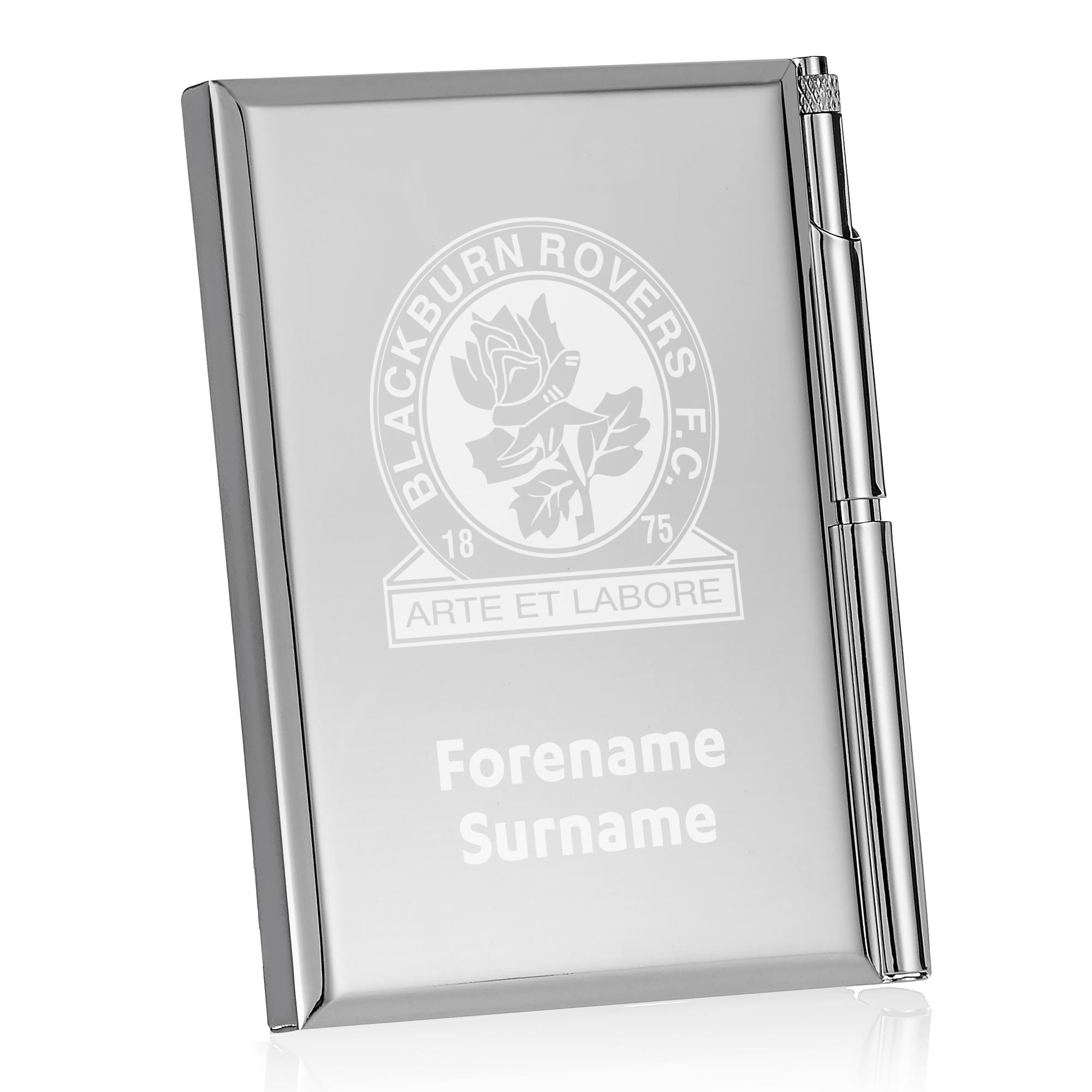 Blackburn Rovers FC Crest Address Book