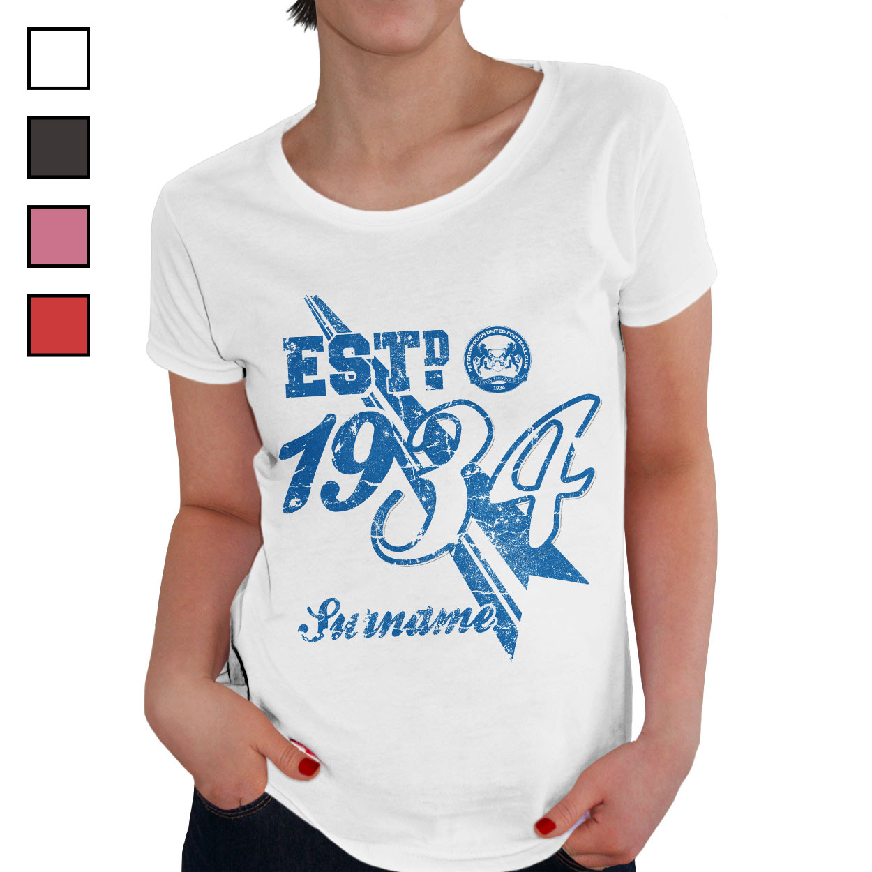 Peterborough United FC Ladies Established T-Shirt