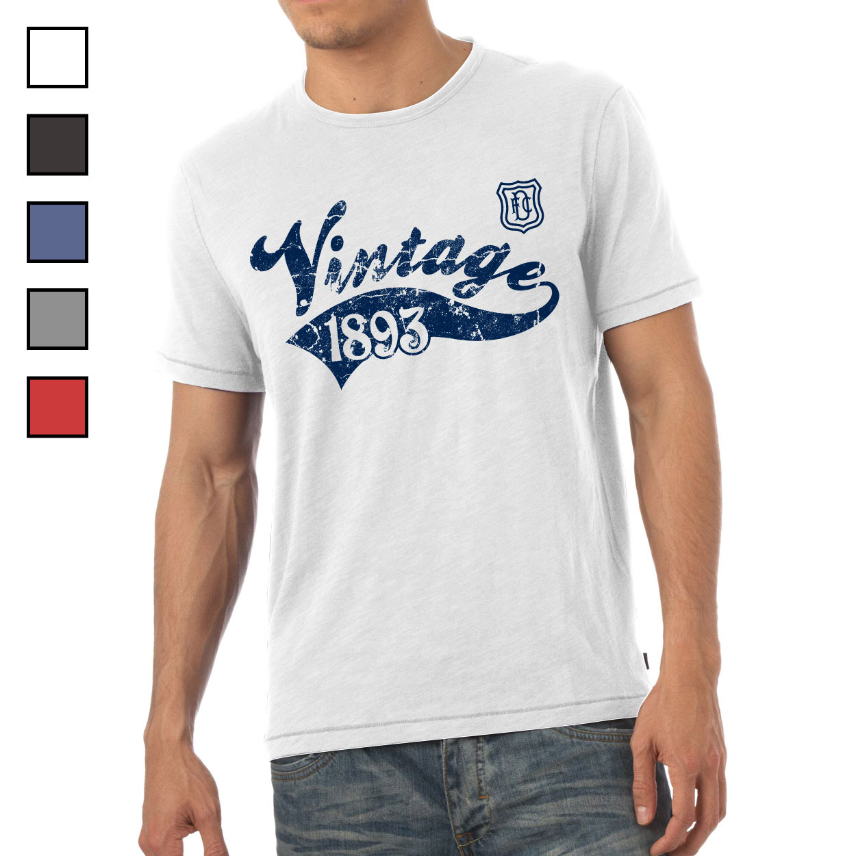 Dundee FC Mens Vintage T-Shirt