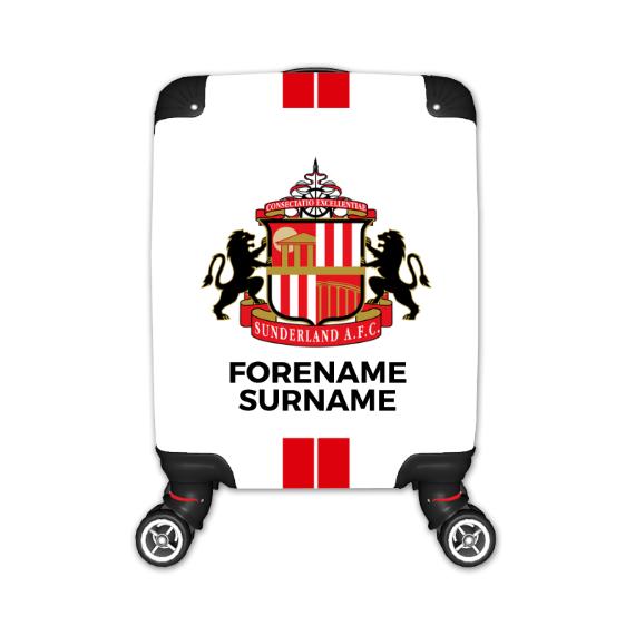 Sunderland Stripe Kid's Suitcase