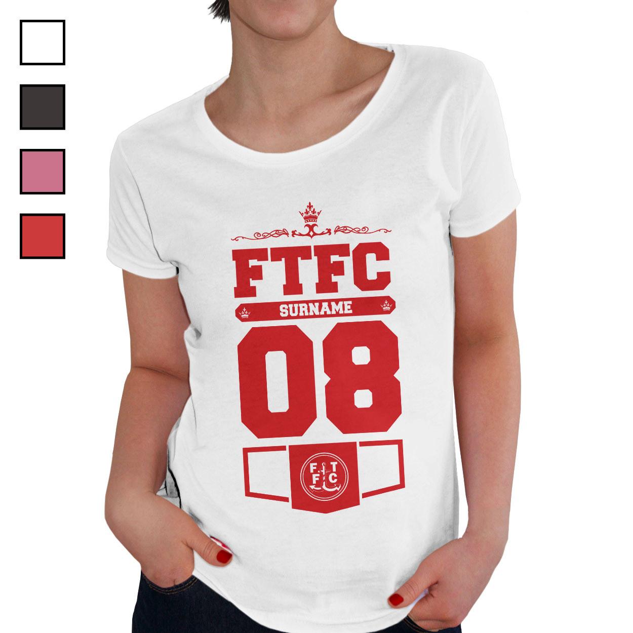 Fleetwood Town FC Ladies Club T-Shirt