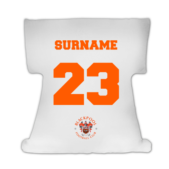 Blackpool Crest Cushion