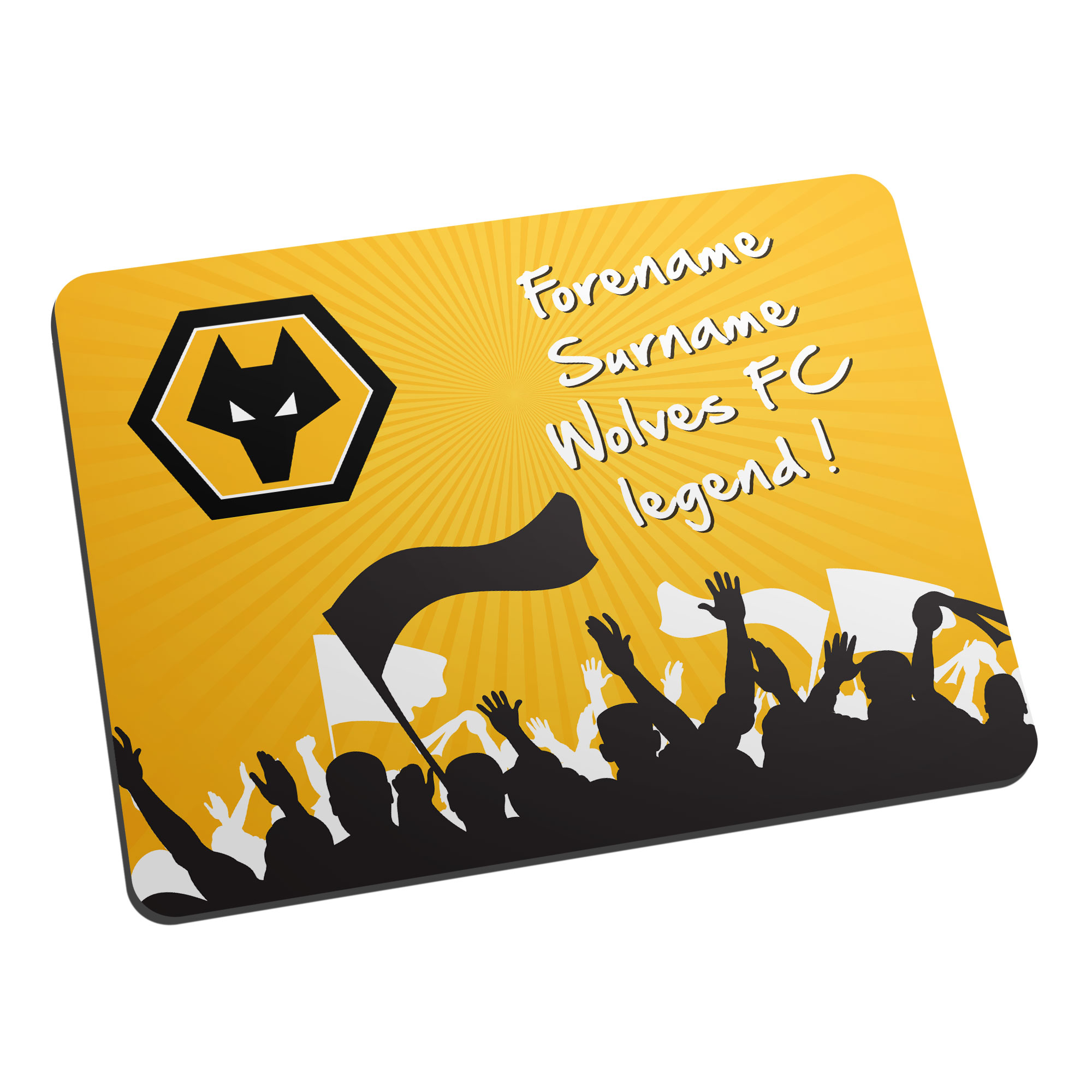 Wolves Legend Mouse Mat