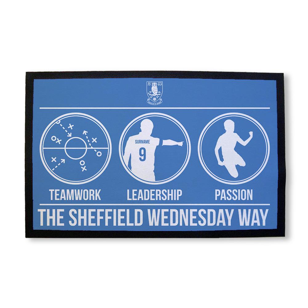 Sheffield Wednesday FC Way Door Mat